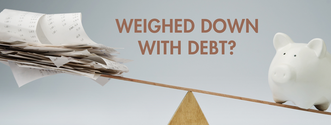 Weighed down with debt